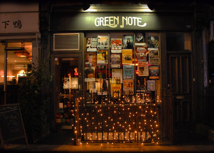 Green Note Camden  Saturday17th August